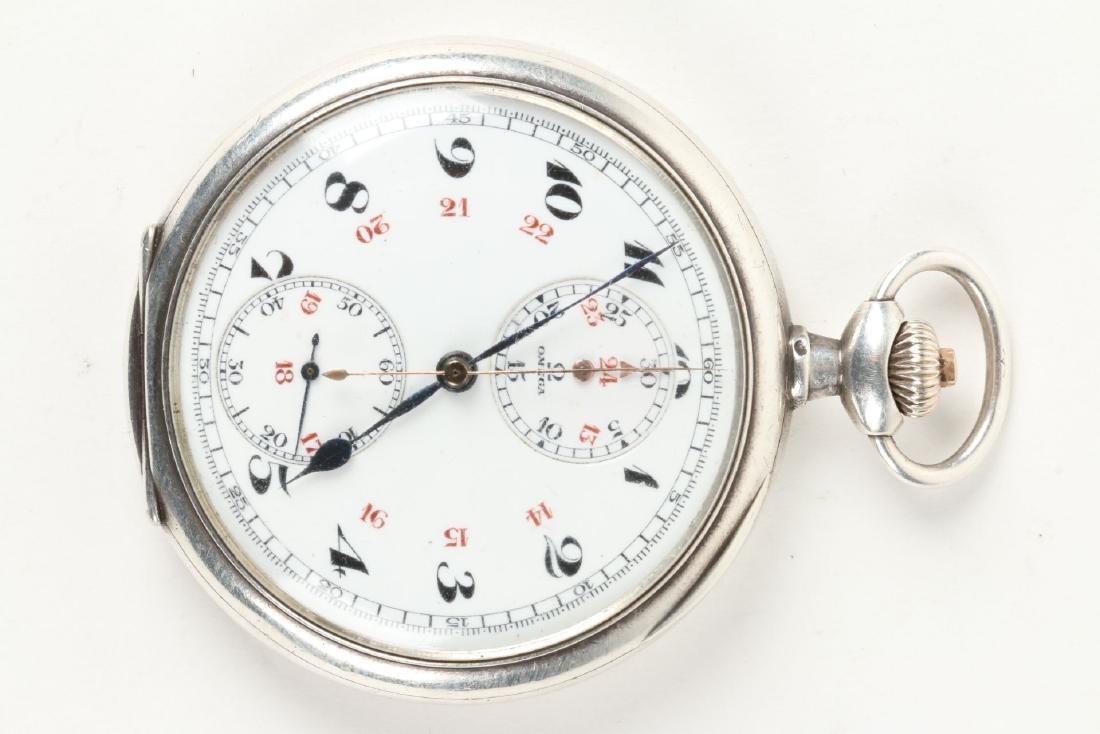 Omega, Chronograph Pocket Watch - 2