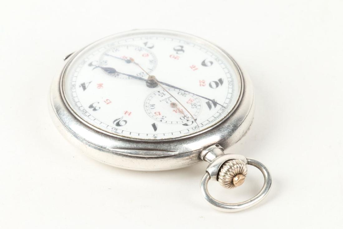 Omega, Chronograph Pocket Watch - 3
