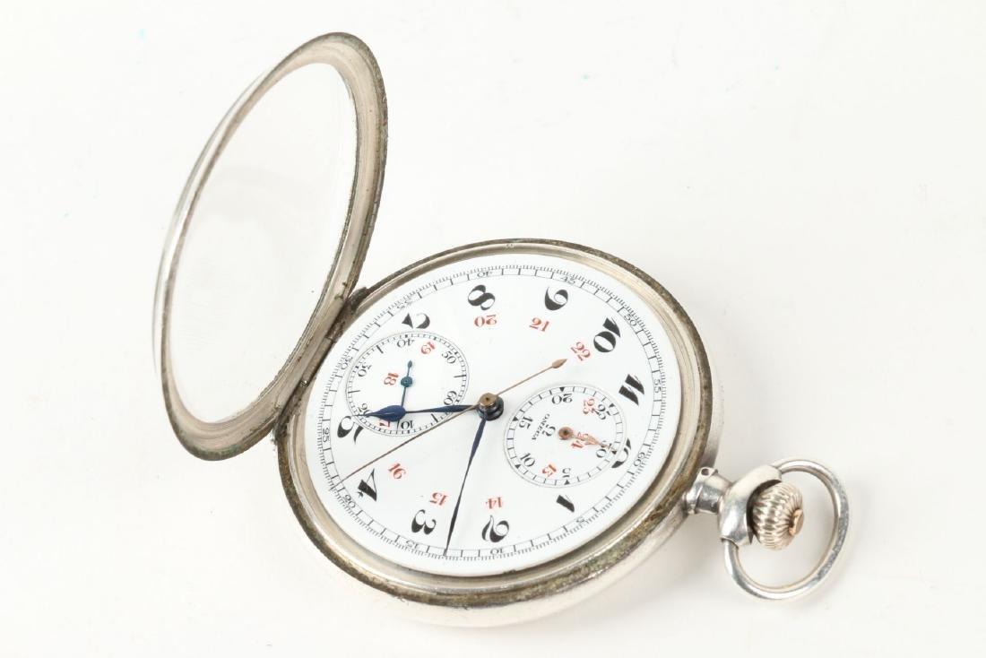 Omega, Chronograph Pocket Watch - 6