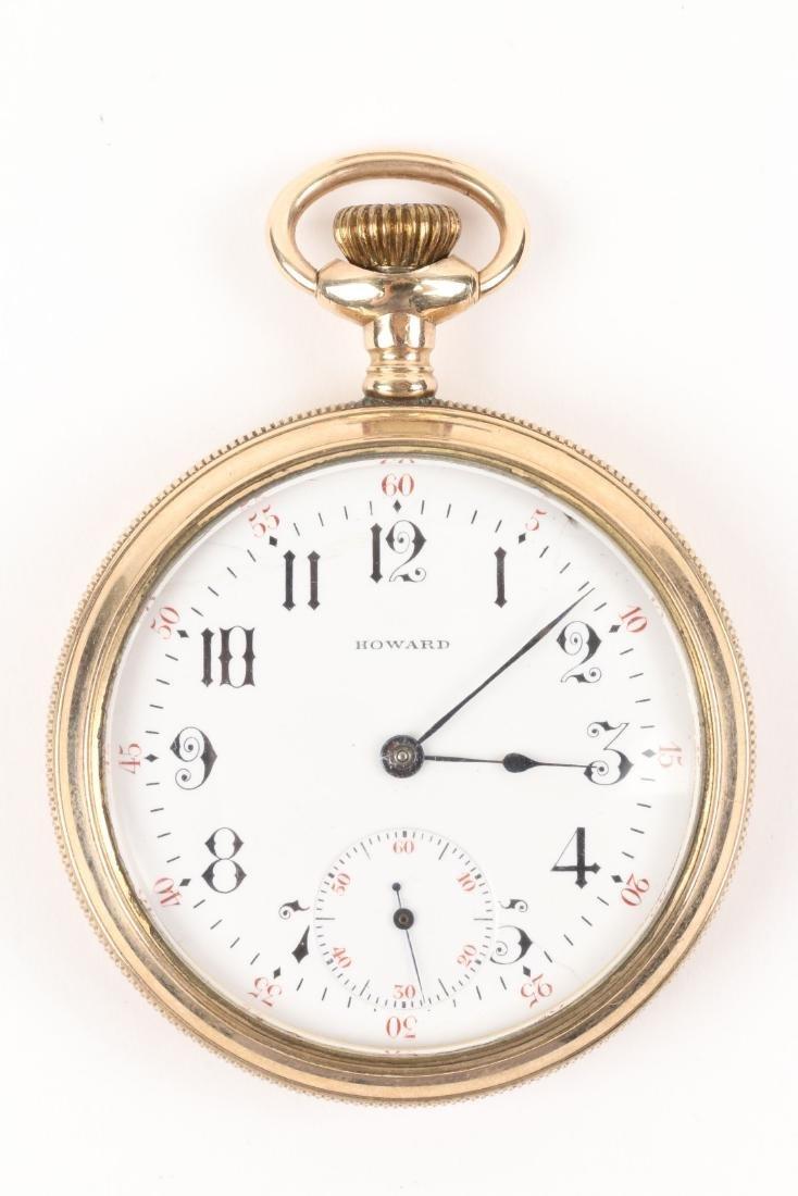 E. Howard, Series 9 Pocket Watch & Box - 2