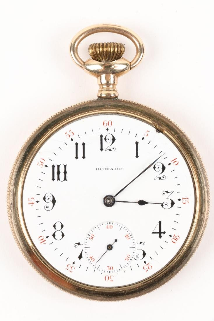 E. Howard, Series 9 Pocket Watch & Box - 5