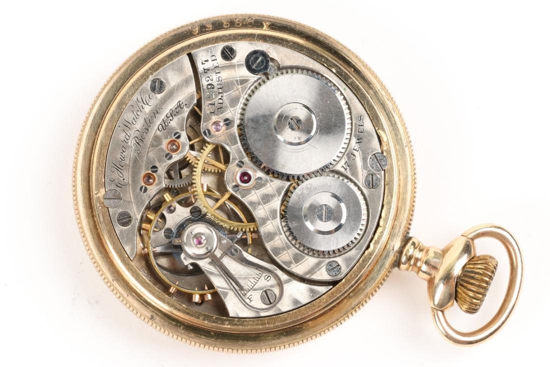 E. Howard, Series 9 Pocket Watch & Box - 7