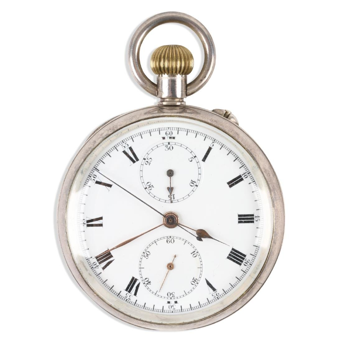 Swiss, Chronograph Pocket Watch