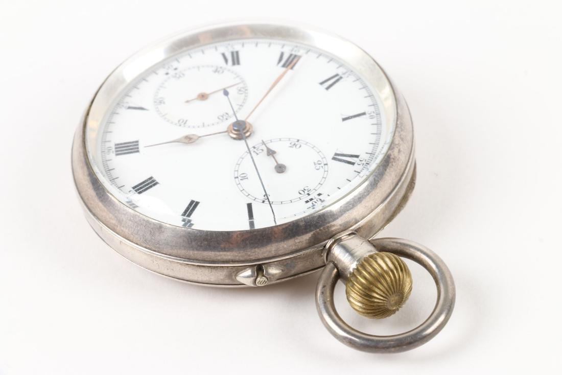 Swiss, Chronograph Pocket Watch - 2