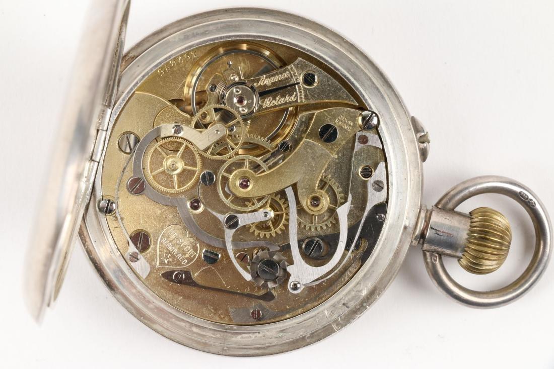 Swiss, Chronograph Pocket Watch - 7