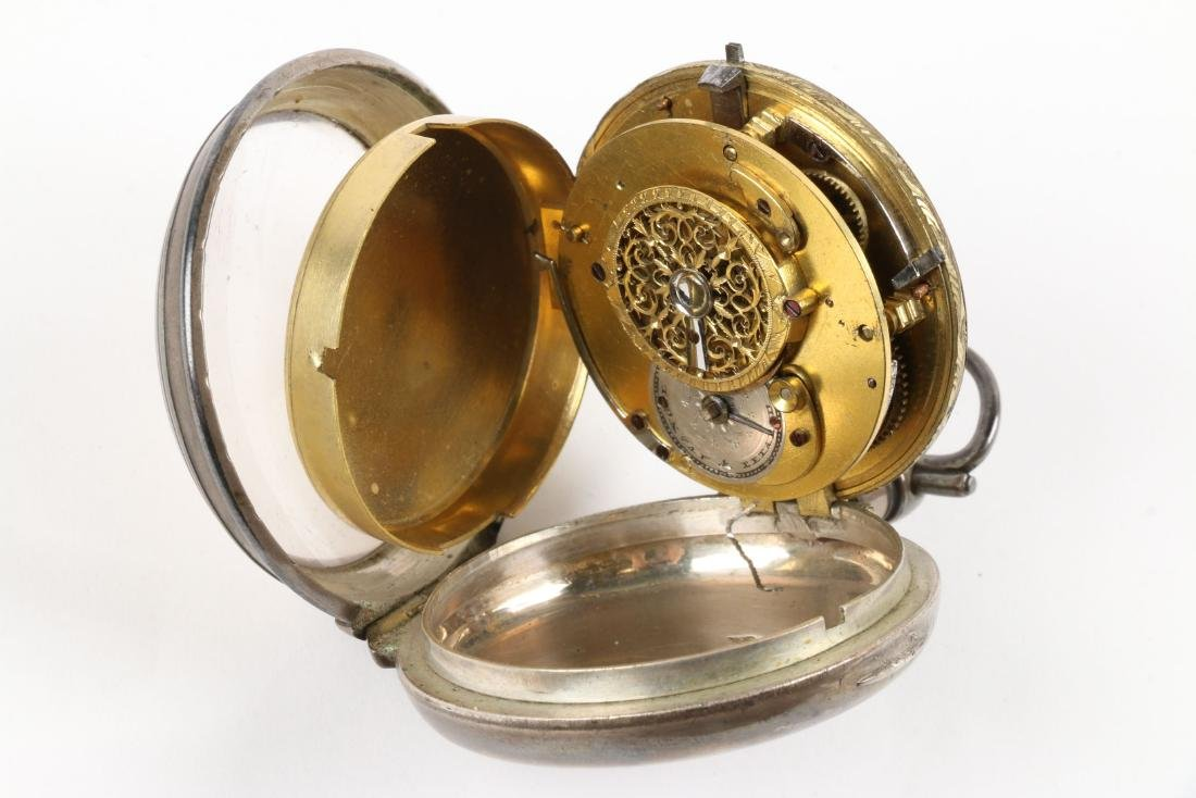 Henry Louis Ducommun, Fusee Pocket Watch - 7