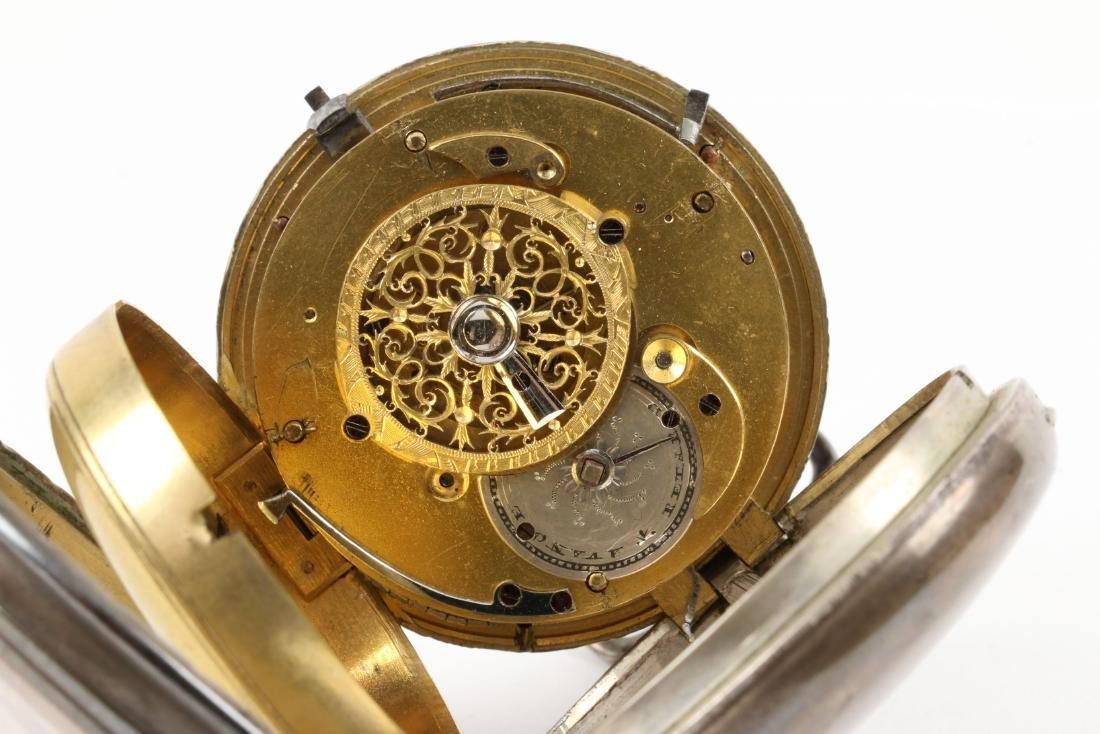 Henry Louis Ducommun, Fusee Pocket Watch - 8