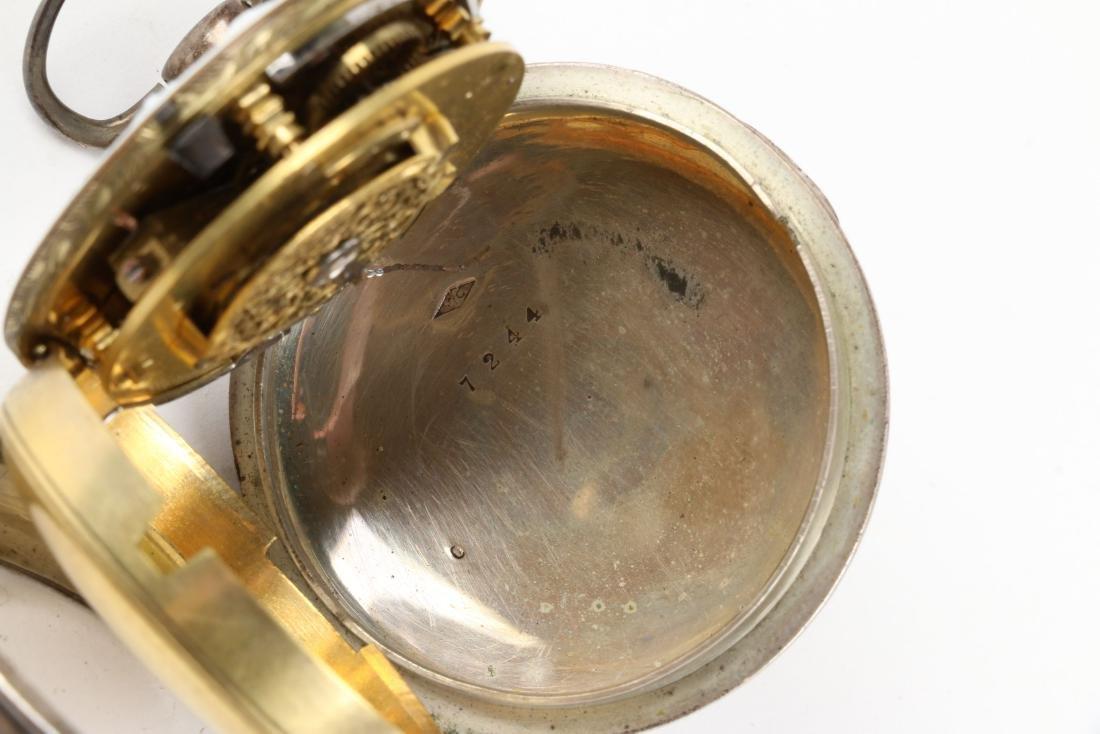 Henry Louis Ducommun, Fusee Pocket Watch - 9