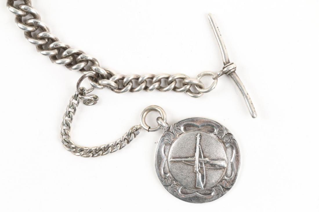 Stewart Dawson, Liverpool, Sterling Silver Pocket Watch - 10