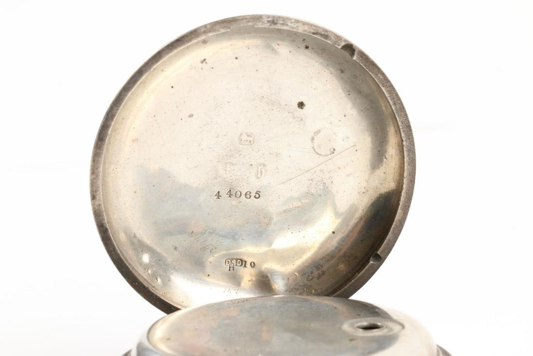Stewart Dawson, Liverpool, Sterling Silver Pocket Watch - 5