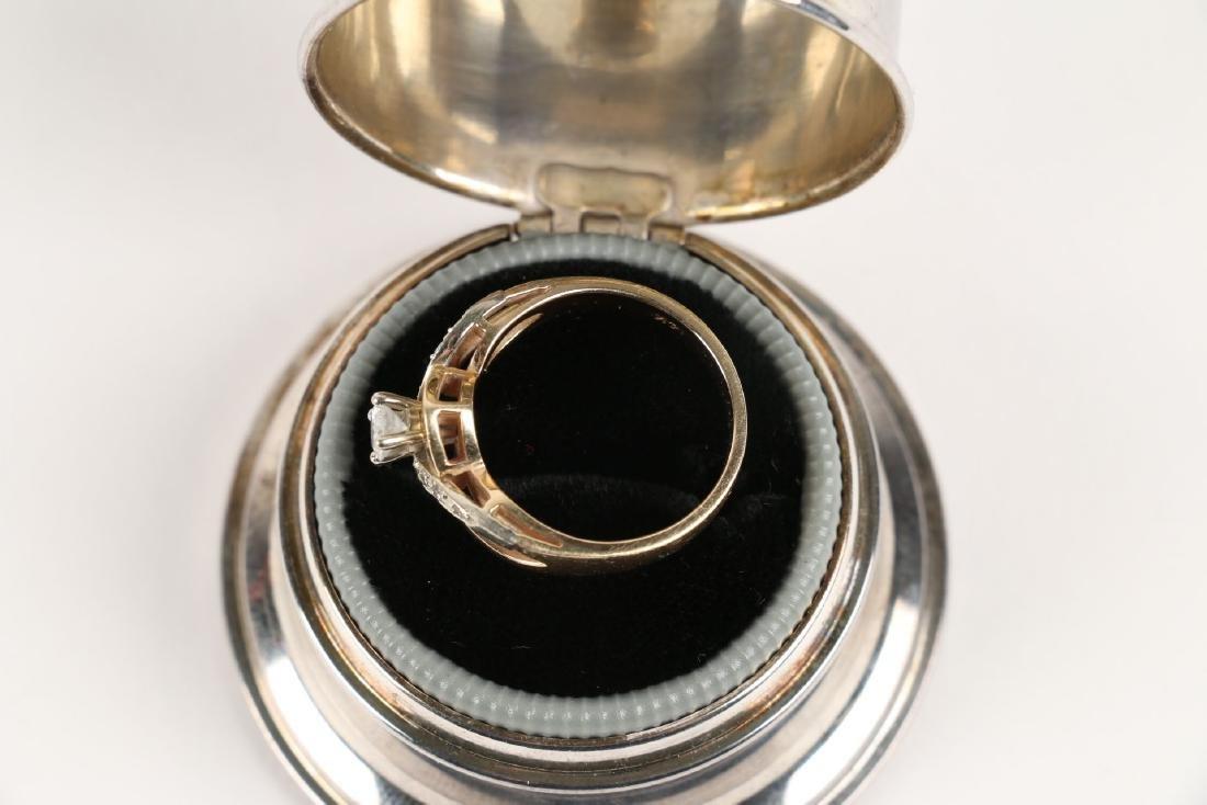 A Birks 14K Gold & Diamond Ring - 3