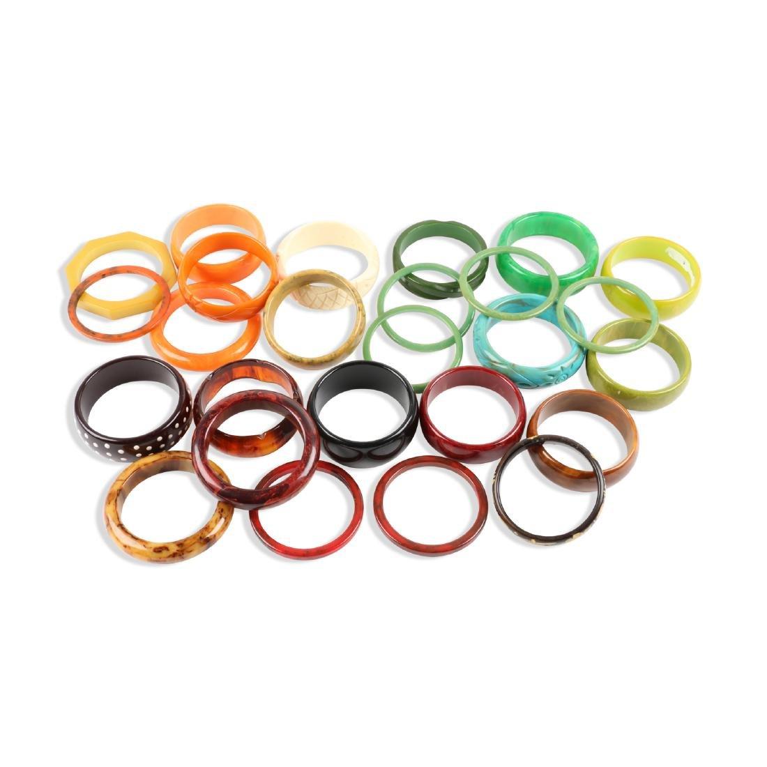 Assorted Bakelite Bangle Bracelets