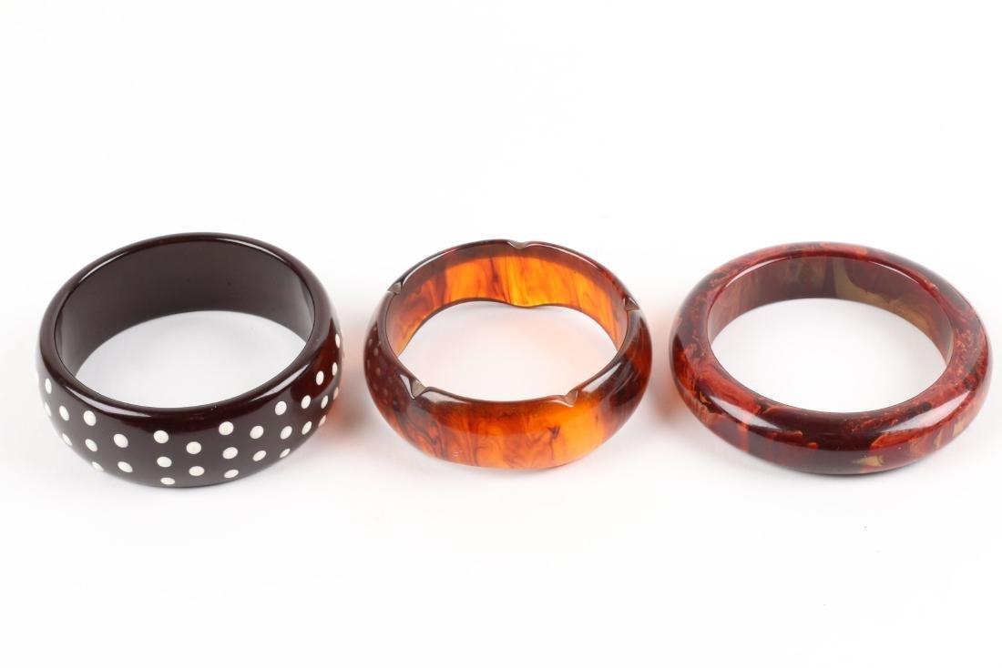 Assorted Bakelite Bangle Bracelets - 2