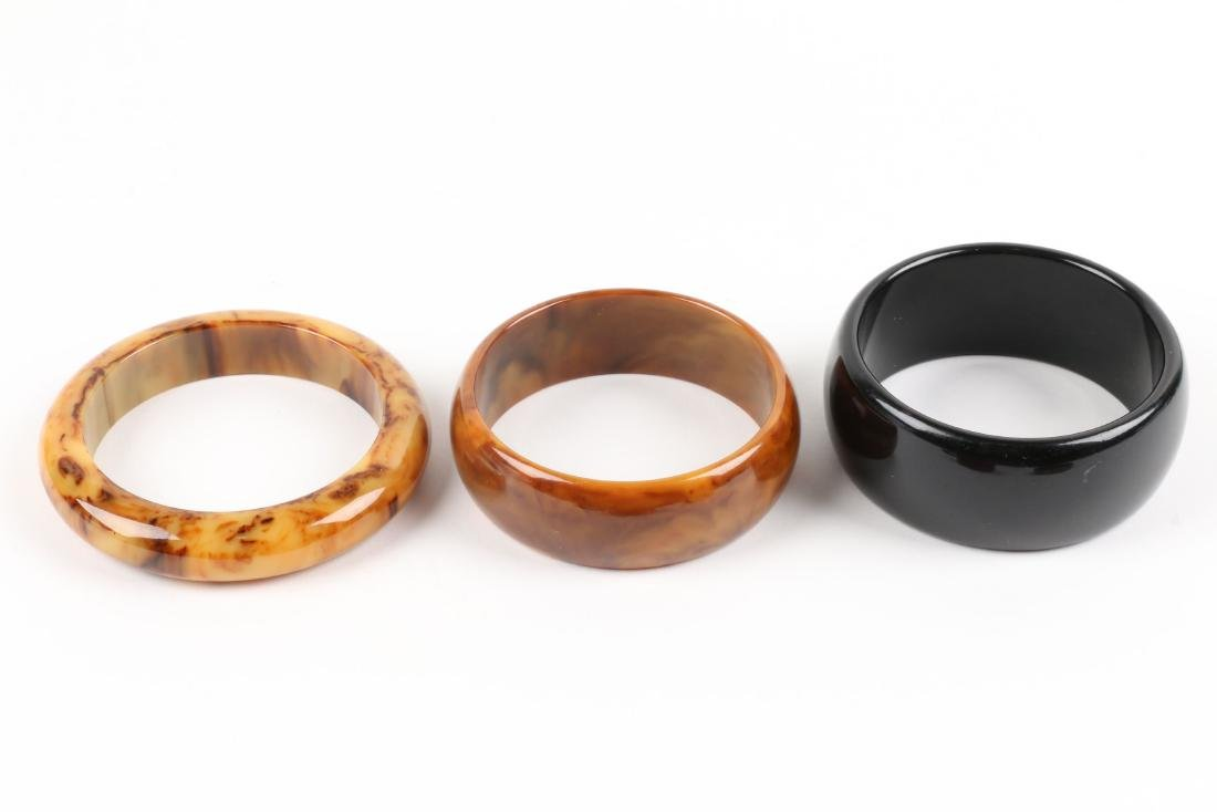 Assorted Bakelite Bangle Bracelets - 3
