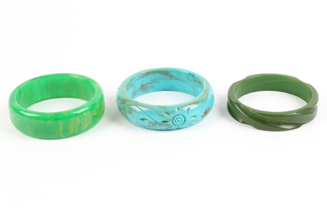 Assorted Bakelite Bangle Bracelets - 5
