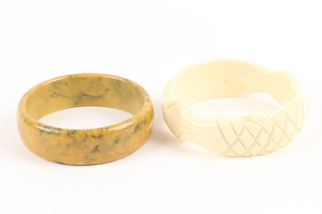 Assorted Bakelite Bangle Bracelets - 8