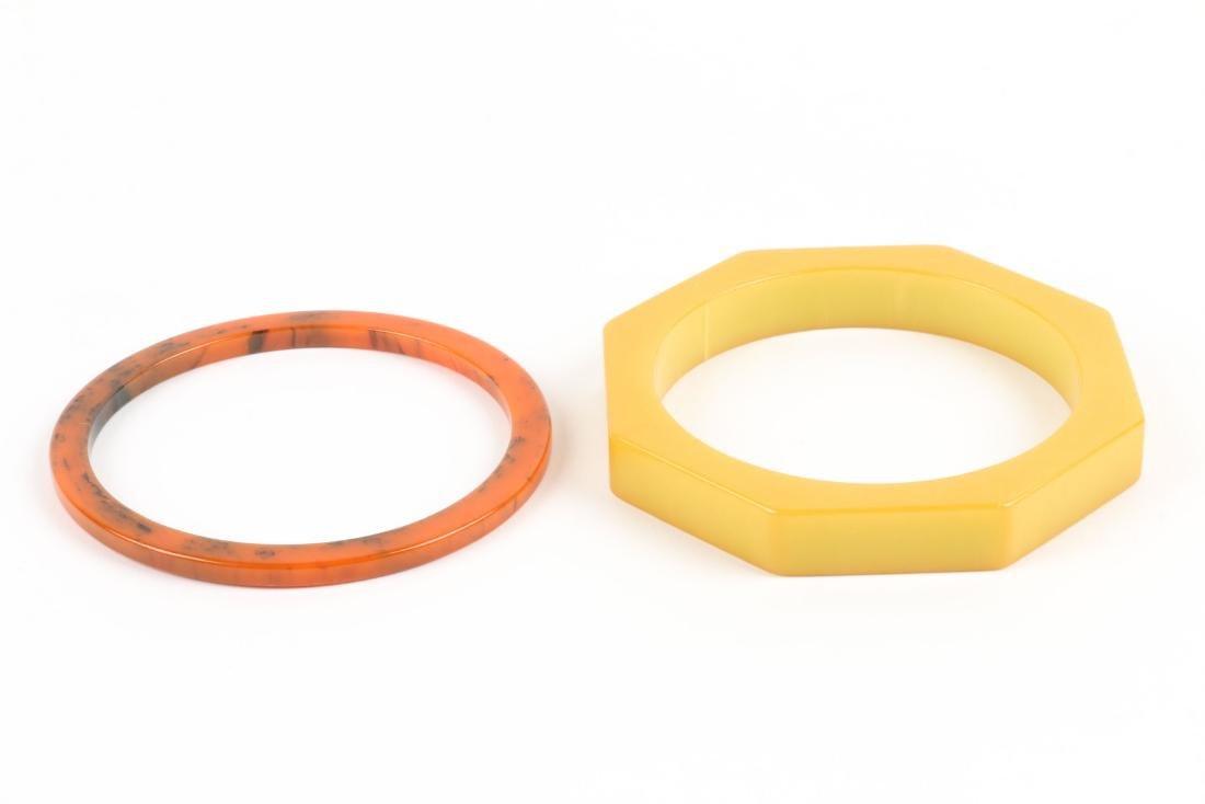 Assorted Bakelite Bangle Bracelets - 9