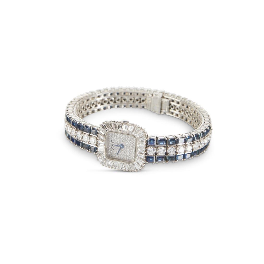 Piaget, 18K Diamond & Sapphire, Ref. 8480 H69