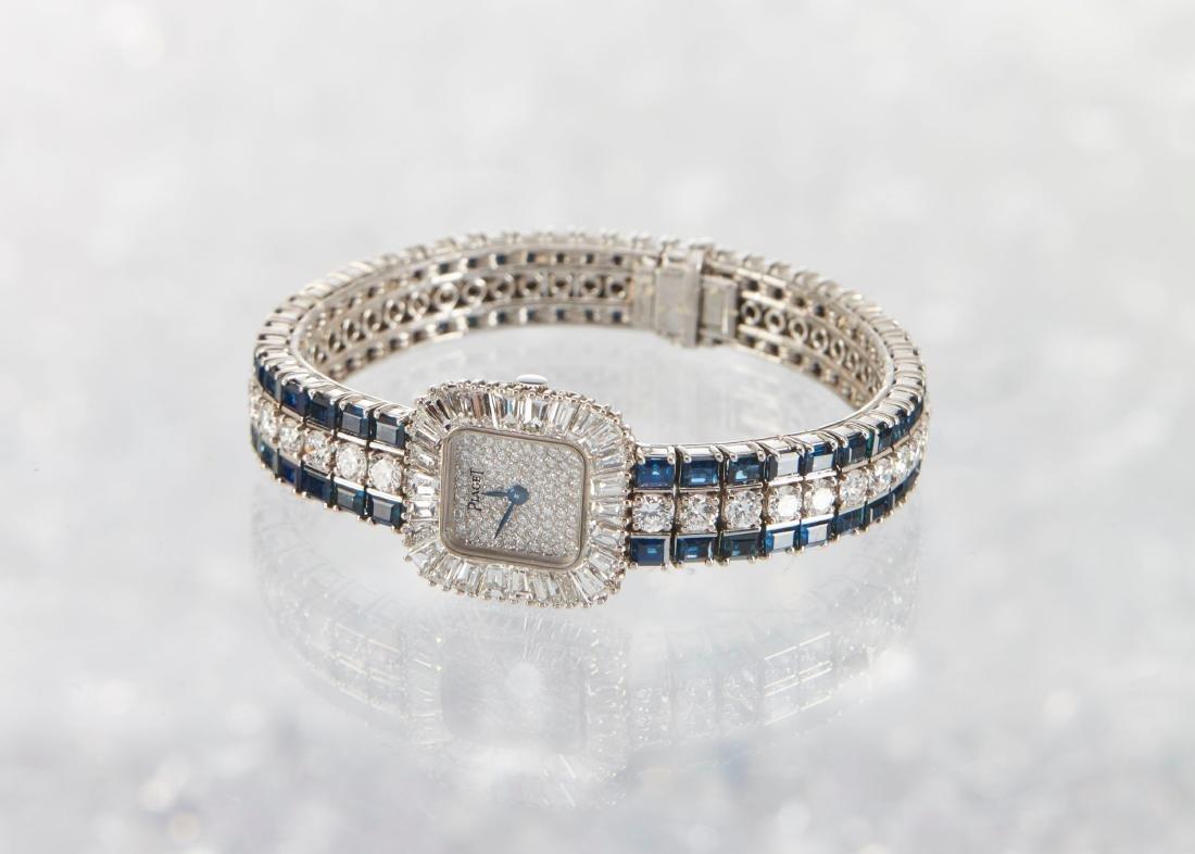 Piaget, 18K Diamond & Sapphire, Ref. 8480 H69 - 3