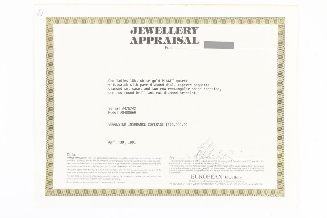 Piaget, 18K Diamond & Sapphire, Ref. 8480 H69 - 7