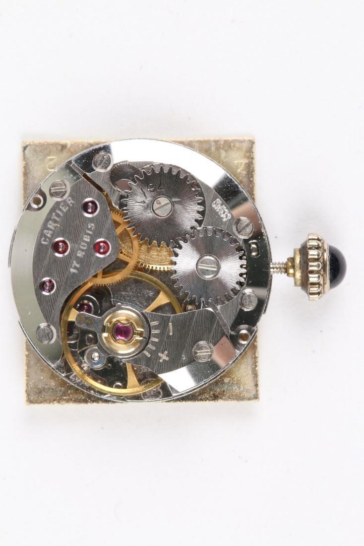 """Cartier, Vermeil """"Tank"""" Wristwatch - 9"""