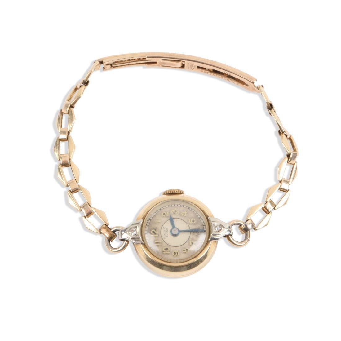"Rolex , ""Tudor"" Lady's Cocktail Watch"