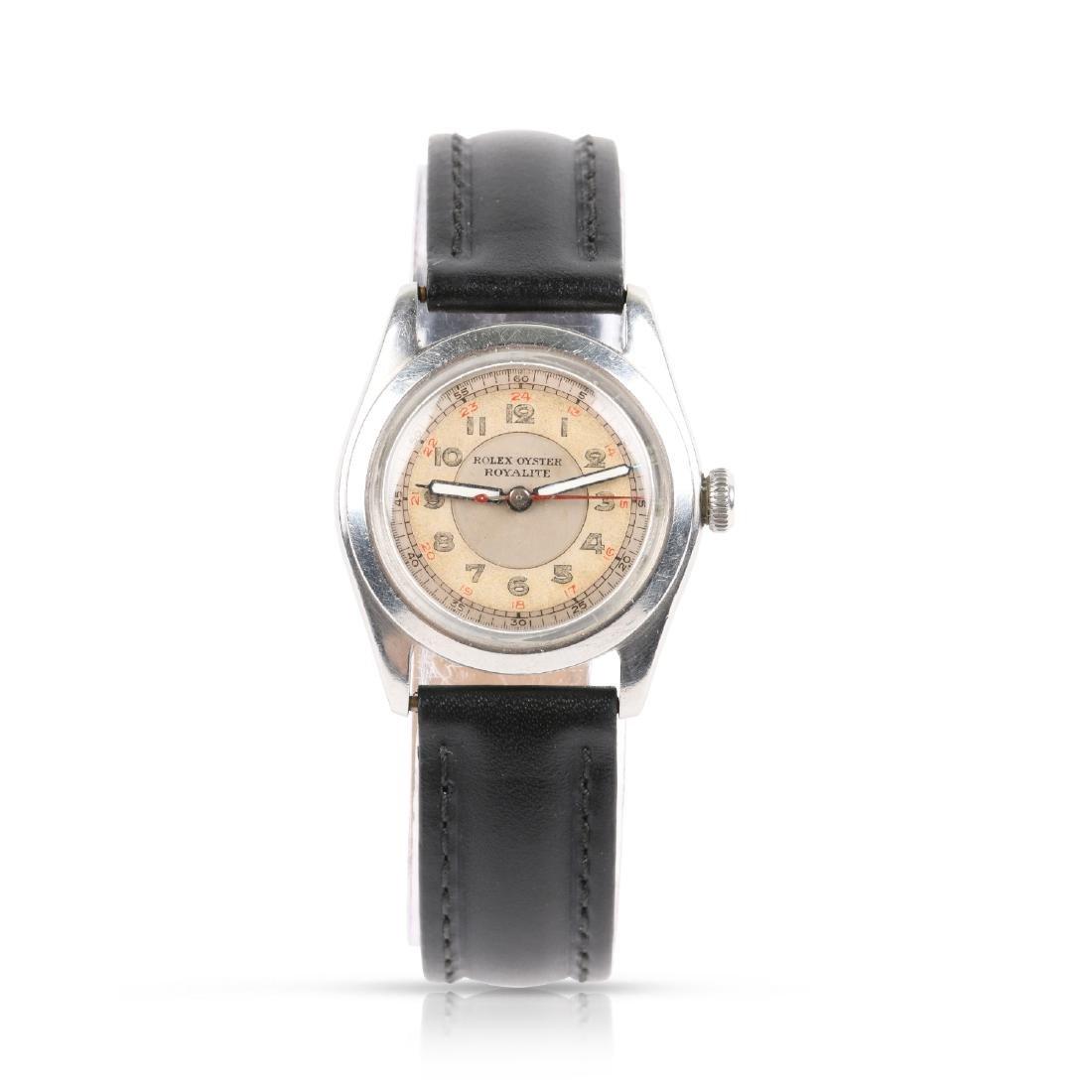 "Rolex Oyster, WWII-Era ""Royalite"""