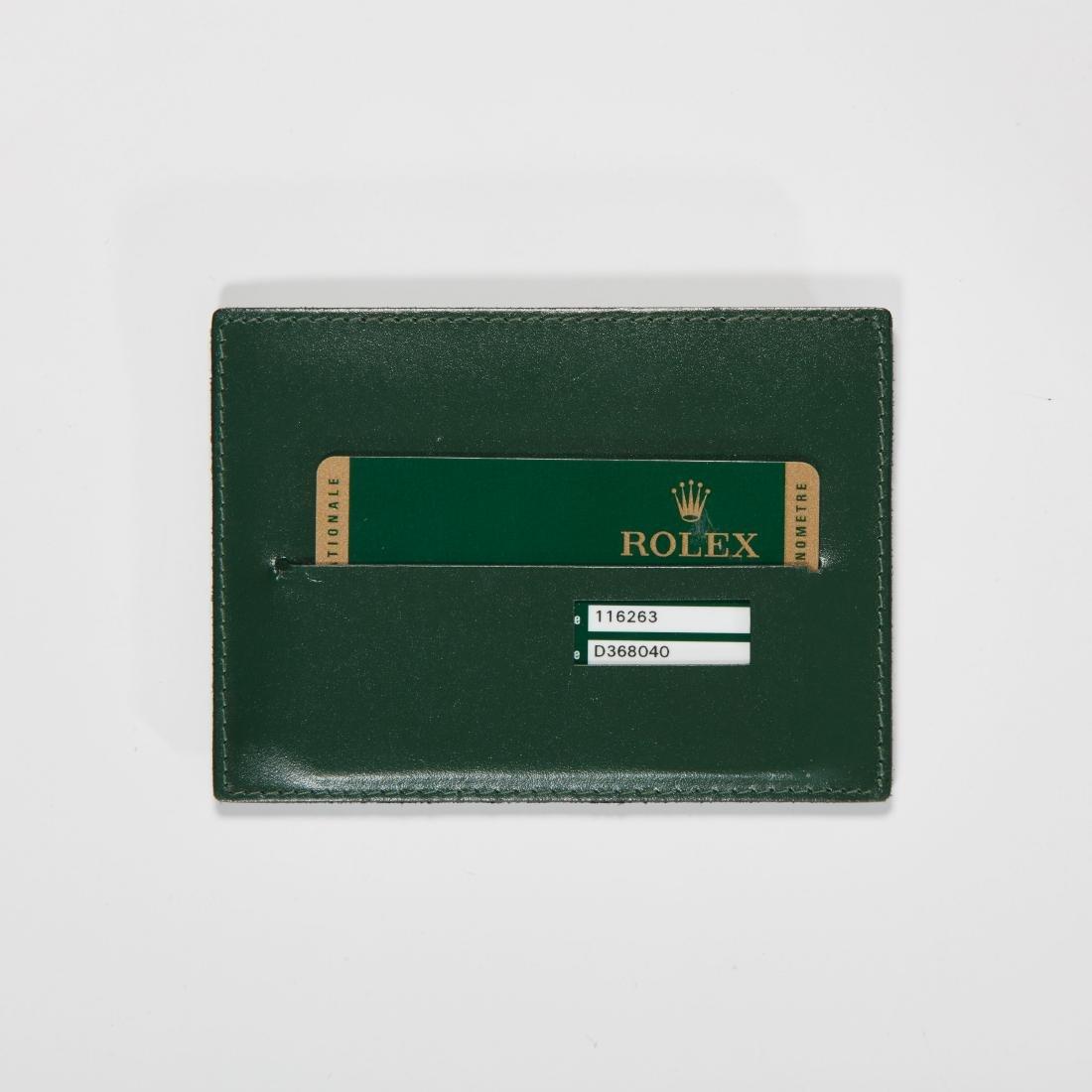 "Rolex, Datejust ""Turnograph"", Ref. 116263 - 8"