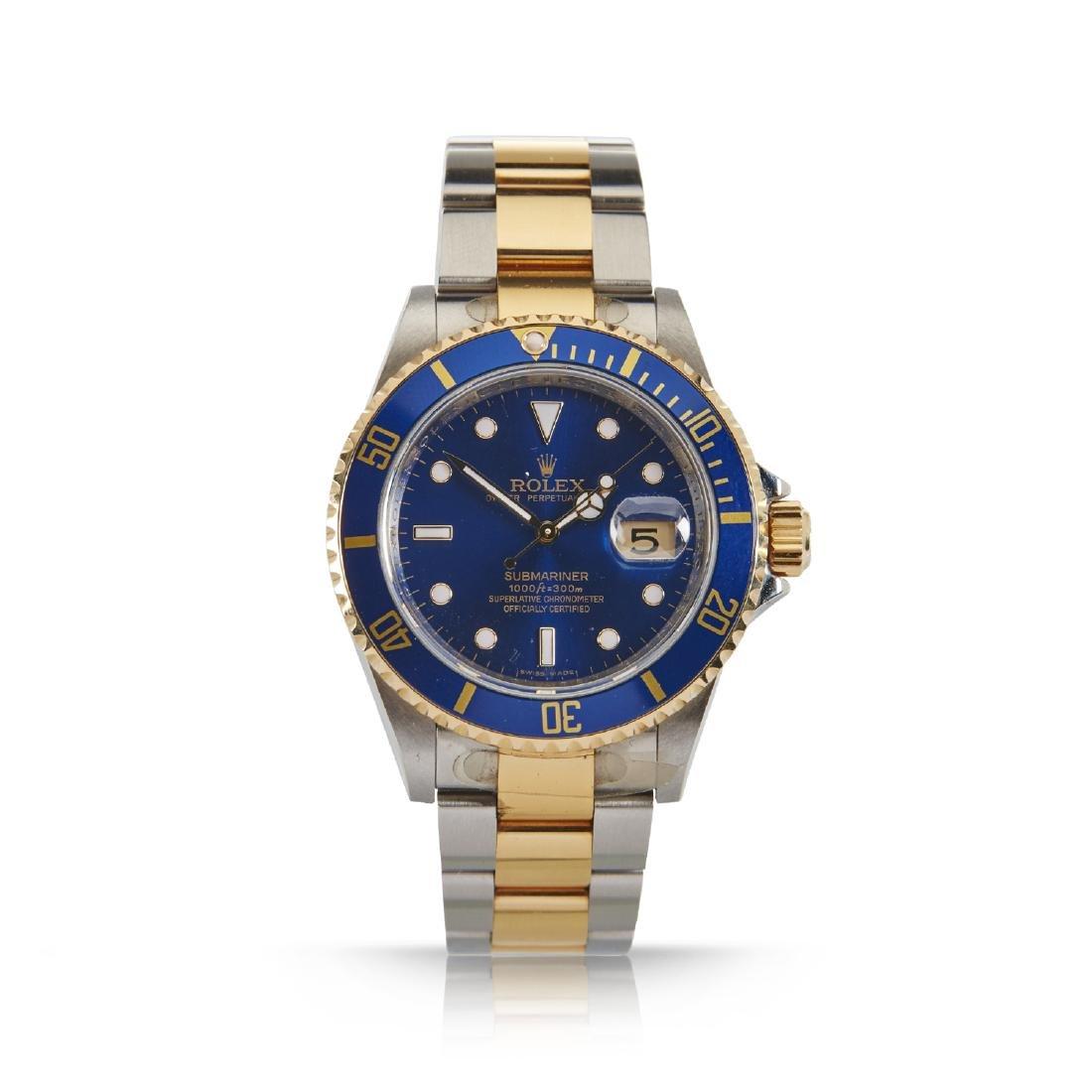 Rolex, Blue Submariner, Ref. 16113