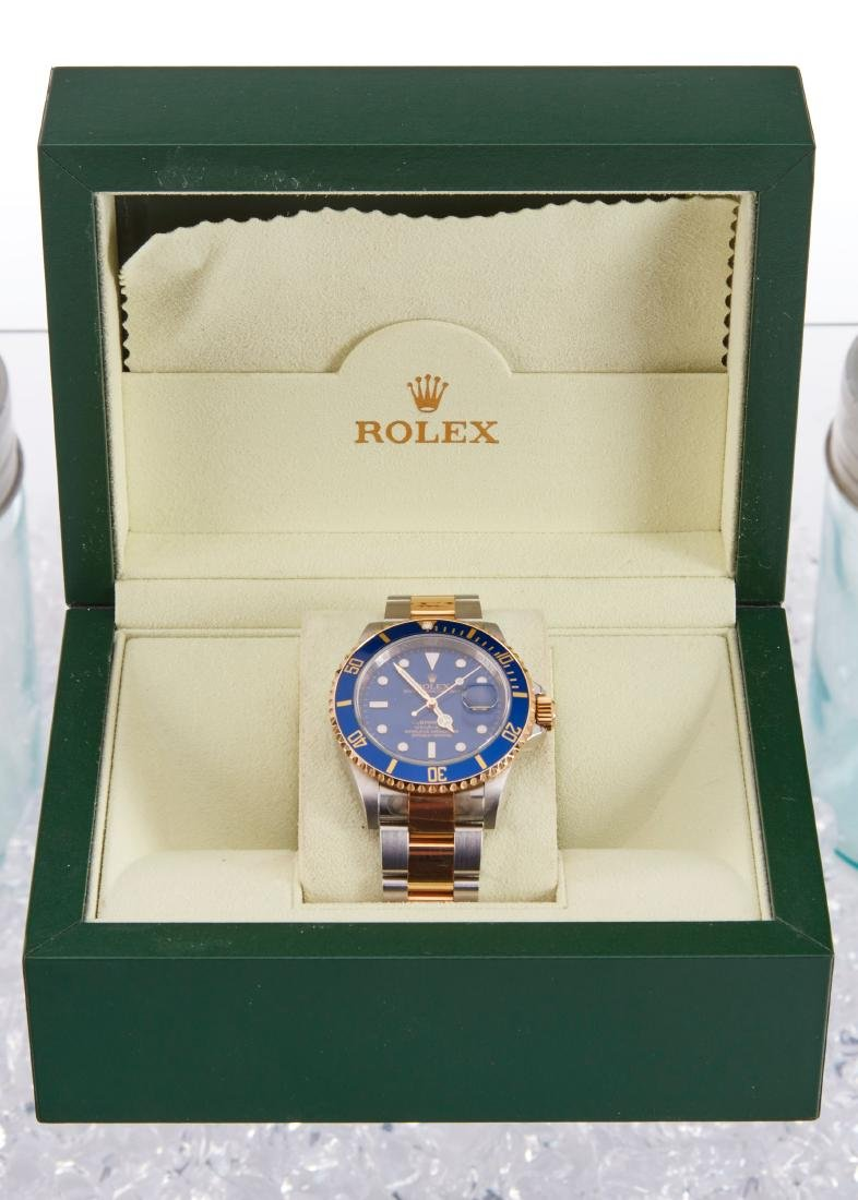 Rolex, Blue Submariner, Ref. 16113 - 2