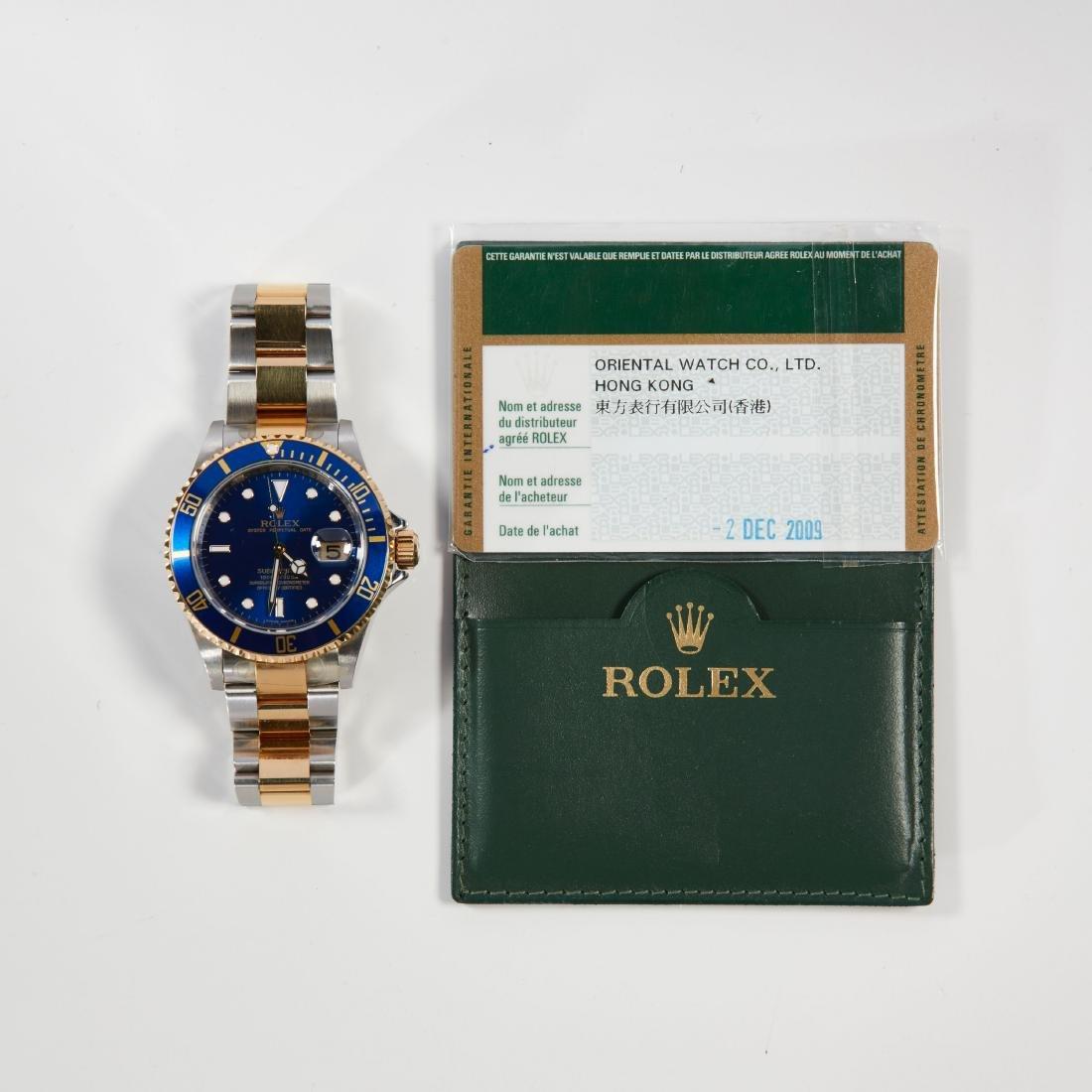 Rolex, Blue Submariner, Ref. 16113 - 3