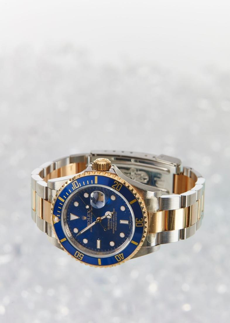 Rolex, Blue Submariner, Ref. 16113 - 4