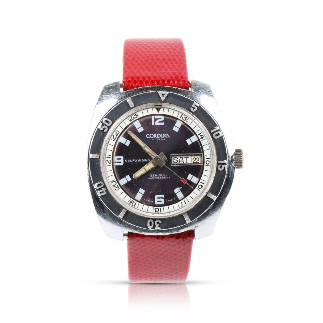Cordura, Sea-Gull, Ref. Wristwatch
