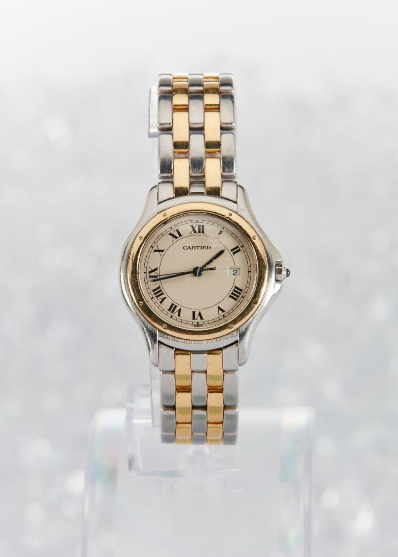 Cartier, Cougar Mid-Size Wristwatch - 2