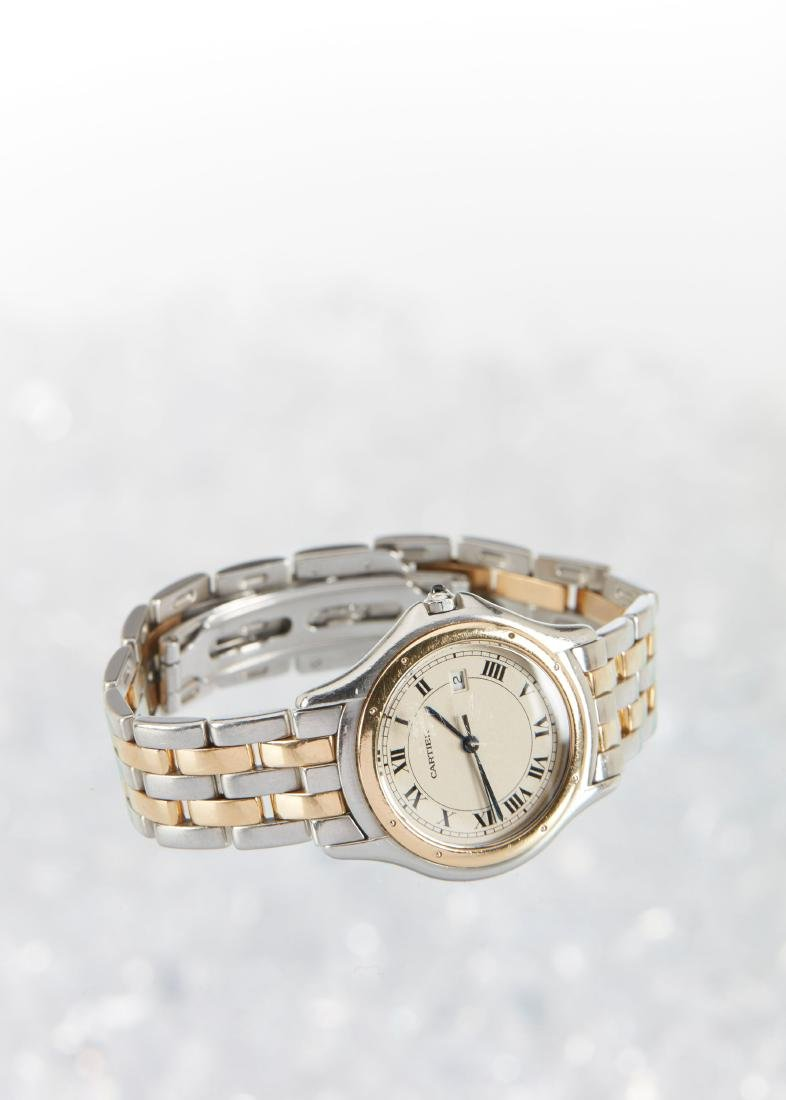 Cartier, Cougar Mid-Size Wristwatch - 3