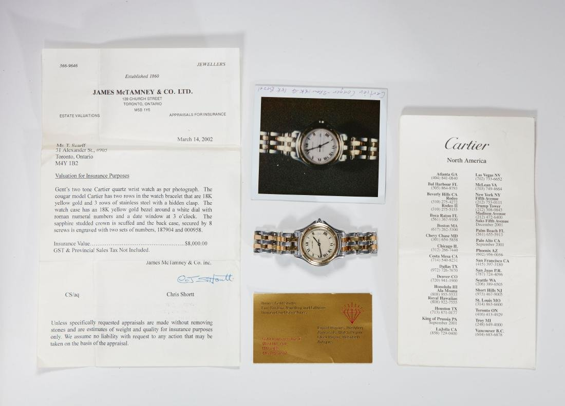 Cartier, Cougar Mid-Size Wristwatch - 6