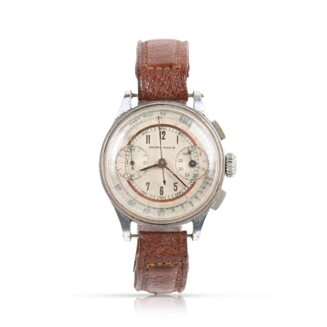 Berna Watch Co., Two-Register Chronograph