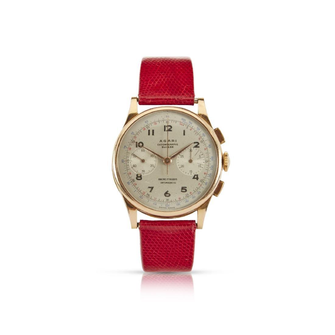 Agari, Chronographe Suisse Wristwatch