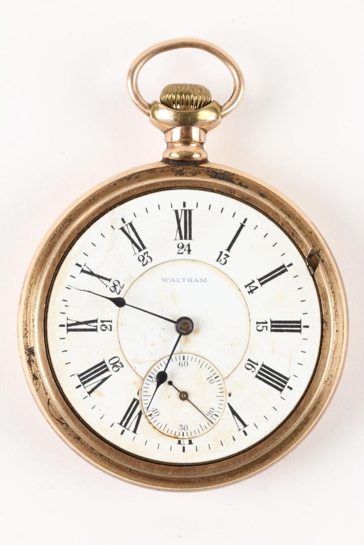 "Waltham, ""Vanguard"" Railroad Pocket Watch - 4"