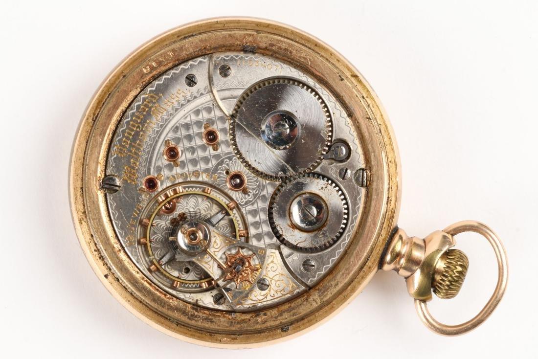 "Waltham, ""Vanguard"" Railroad Pocket Watch - 6"