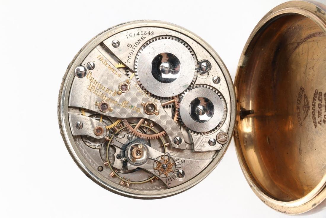 "Waltham, ""Vanguard"" Railroad Pocket Watch - 8"