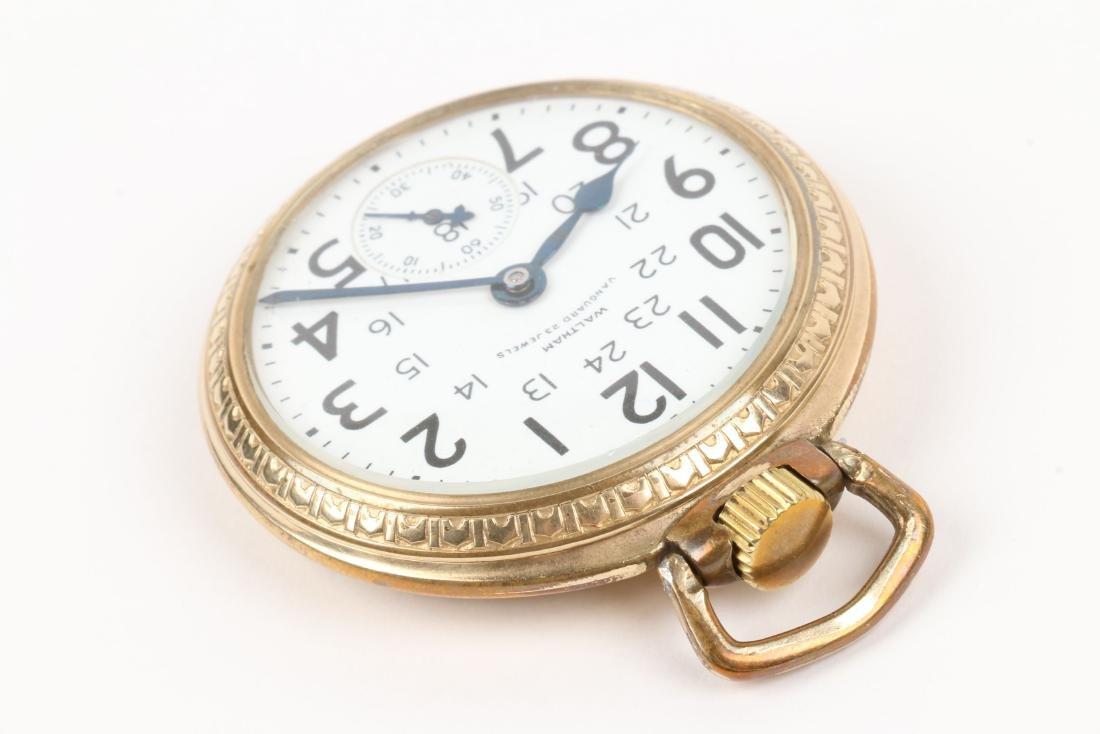 "Waltham, ""Vanguard"" Railroad Pocket Watch - 3"