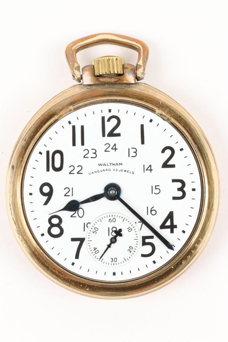 "Waltham, ""Vanguard"" Railroad Pocket Watch - 5"