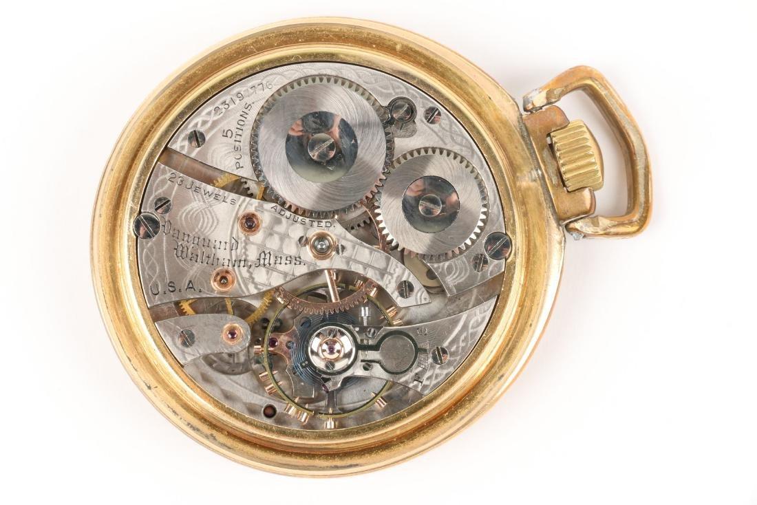 "Waltham, ""Vanguard"" Railroad Pocket Watch - 7"