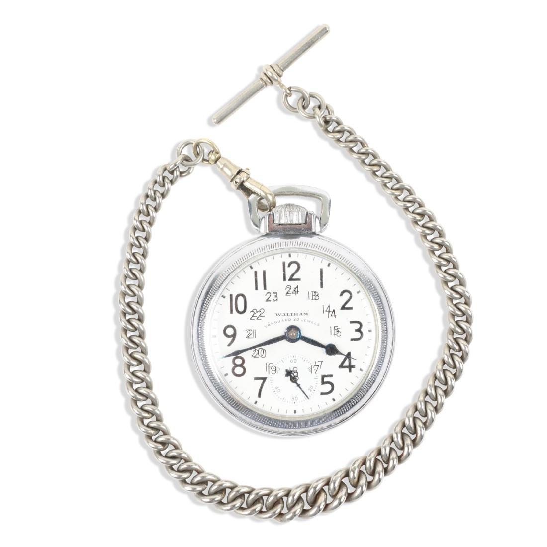 Waltham, Vanguard Pocket Watch