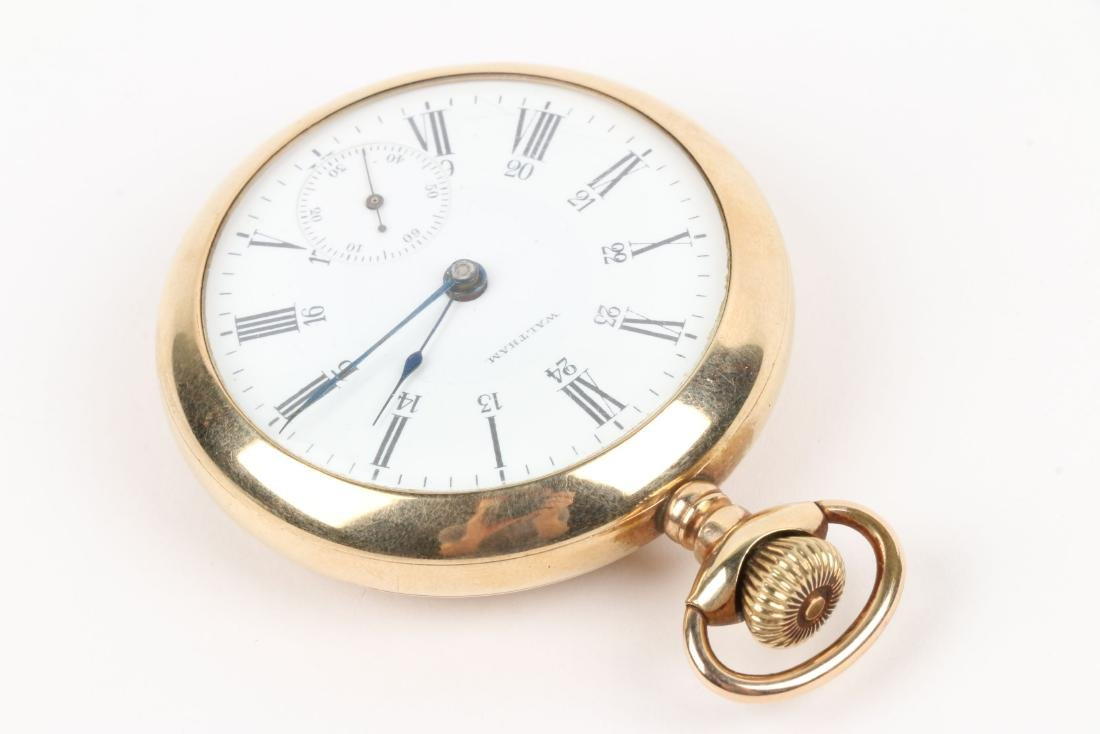 Waltham, Canadian Pacific Pocket Watch - 2