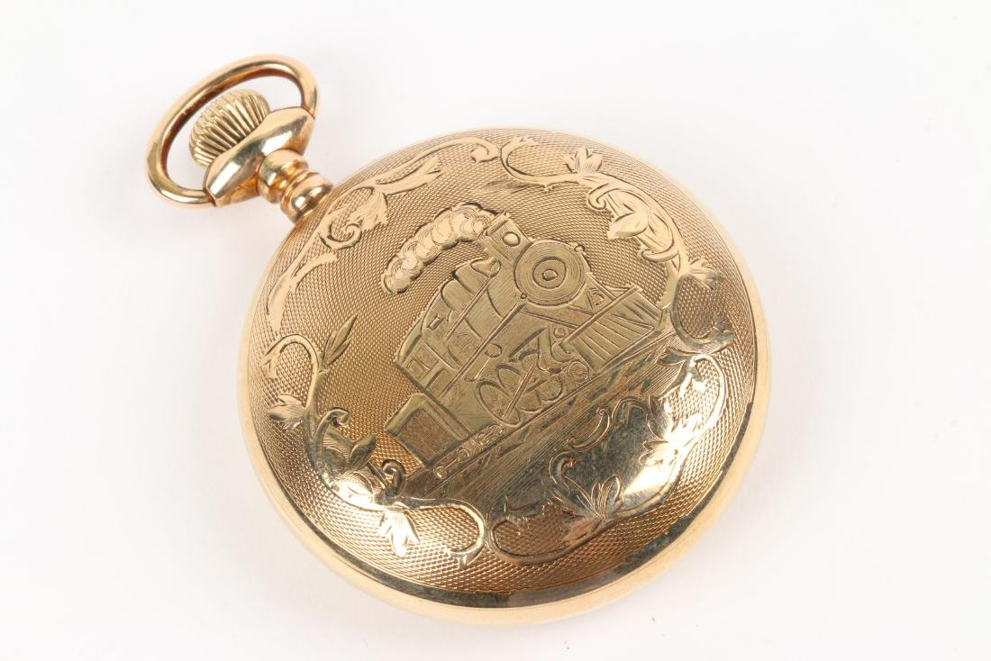 Waltham, Canadian Pacific Pocket Watch - 3