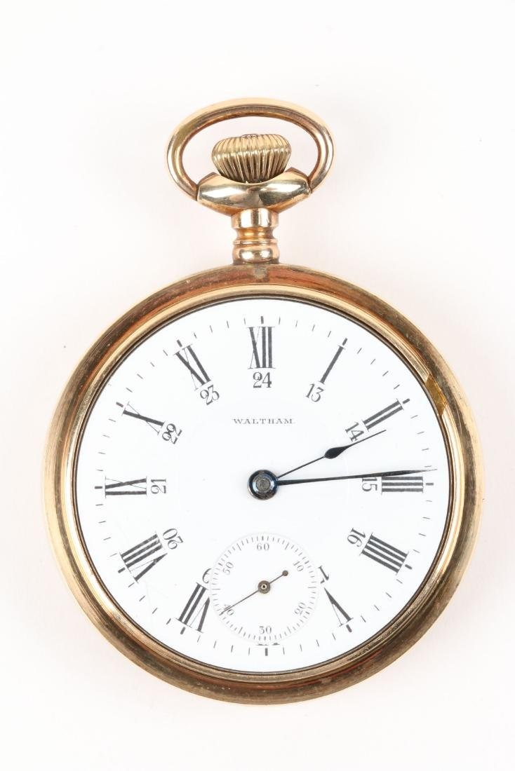 Waltham, Canadian Pacific Pocket Watch - 4