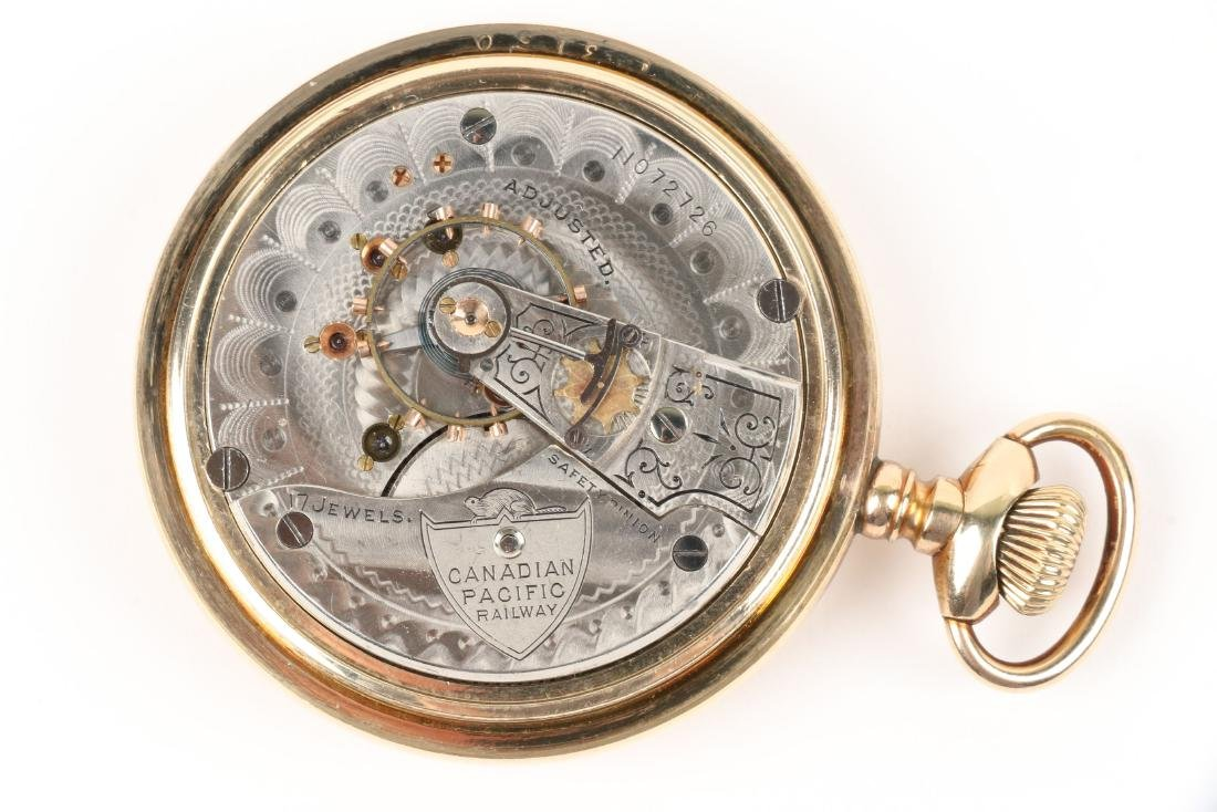 Waltham, Canadian Pacific Pocket Watch - 6