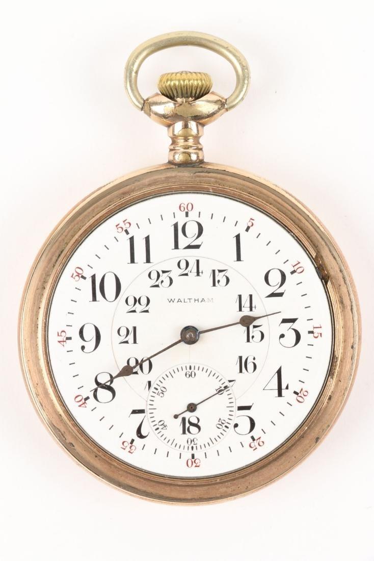 Waltham, Canadian Pacific Railway Pocket Watch - 4